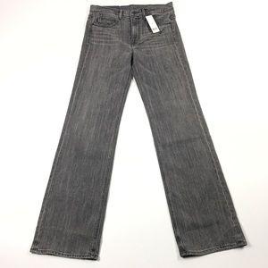 Helmet Lang Gray Jeans 27 25 33 Inseam Long Flare